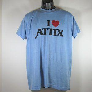 I Heart Love Attix T Shirt Pharmaceuticals Vintage